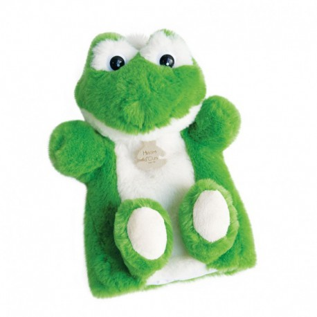 Douce marionnette : grenouille