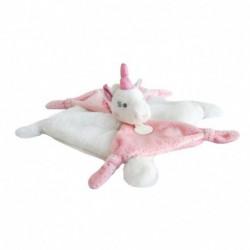 Doudou : licorne rose