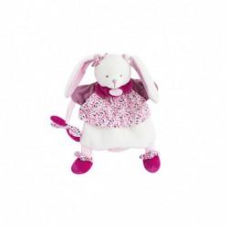 Marionnette : lapin cerise