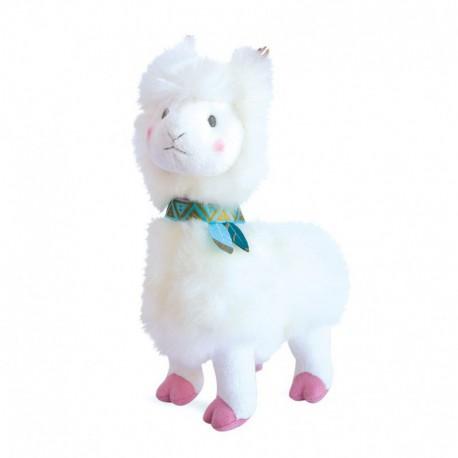 Lama : blanc