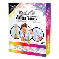 Mini-lab chimie des couleurs