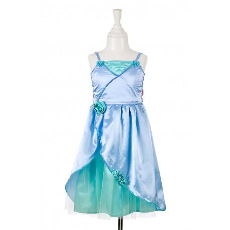 Robe : Flore (vert-bleu)