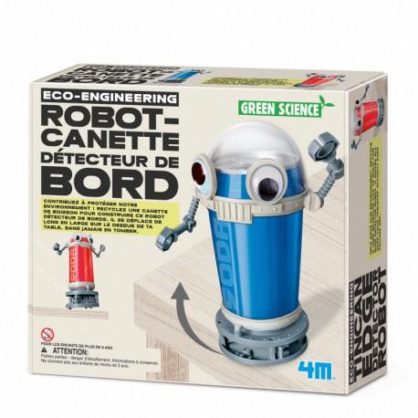 Robot canette détecteur de bords