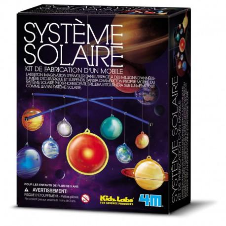 Espace : système solaire phosphorescent