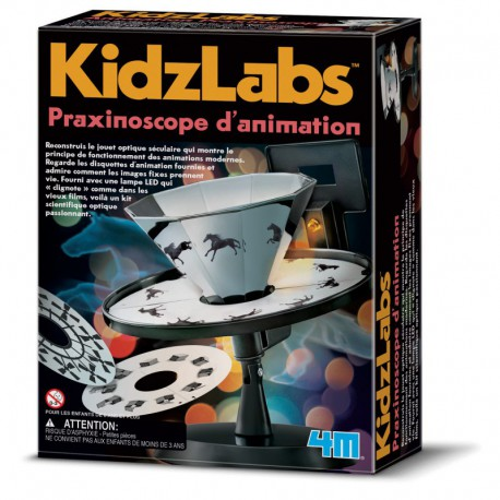 Praxinoscope d'animation