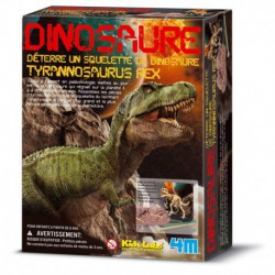Déterre ton dinosaure : tyrannosaurus rex