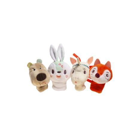 Marionnettes à doigts : forêt