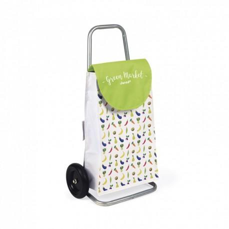 Chariot de course : green market