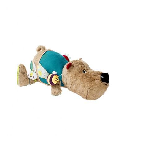 César : ours câlin d'activités