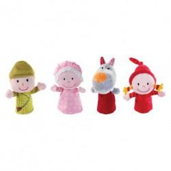 Chaperon rouge : marionnettes à doigts