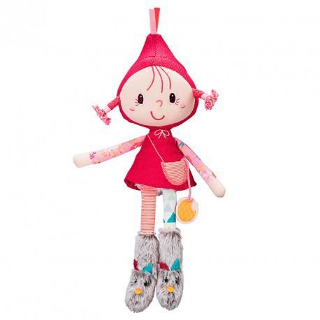 Chaperon rouge : mini poupée
