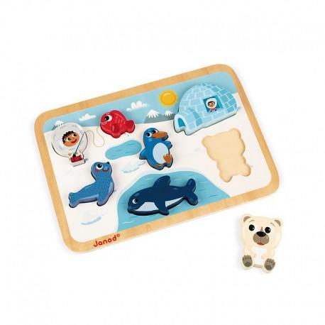 Chunky puzzle : arctique