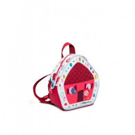 Chaperon rouge : mini sac à dos