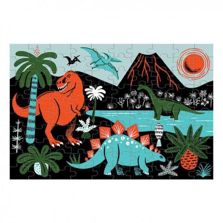 Puzzle : dinosaurs (glow in dark)