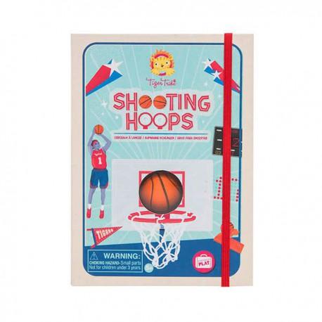 Shooting hoops : basketball game