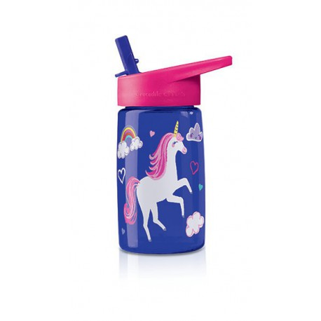 Tritan bottle : unicorn