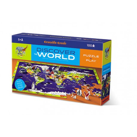 Discover Puzzle : world