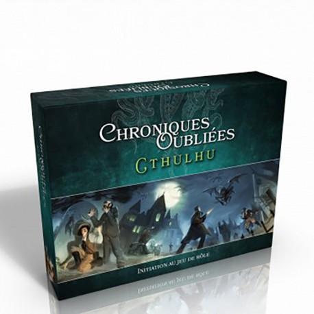Chroniques Oubliées Contemporain : boîte d'initiation Cthulhu