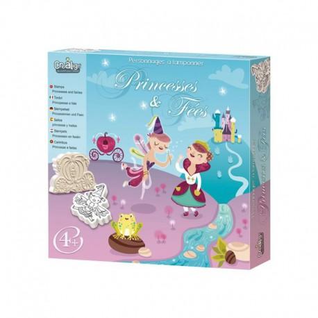 Tampons Mouss : princesses et fées