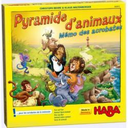 Pyramide d'animaux - jeu d'empilement et de mémoire