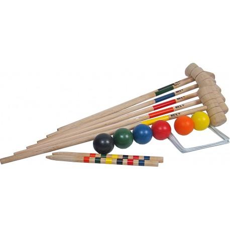 Croquet - set de 6 joueurs