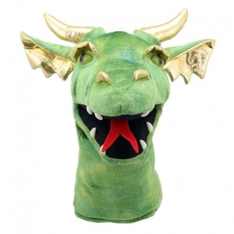 Marionnette Dragon Vert - PC004804