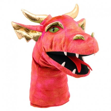 Puppet And Cie - Marionnette Dragon Rouge - PC004805