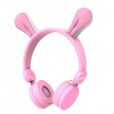 Kidywolf - Casque Audio - Rabbit - Kidyears-Rab
