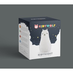 Kidywolf - Kidynight - Night Light - Lama - Kidynight-La