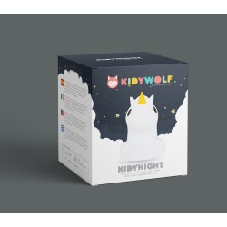 Kidywolf - Kidynight - Night Light - Unicorn - Kidynight-Un