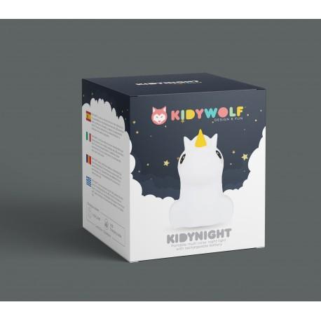 Kidywolf - Kidynight - Night Light - Unicorn - Kidynight-Un