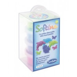 Softine - 4 Pots Couleurs Froides