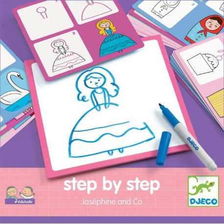 Step by step : Joséphine and co