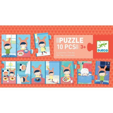 Puzzles duo-trio : la journée