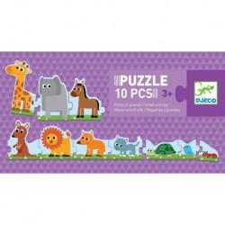 Puzzles duo-trio : petits et grands