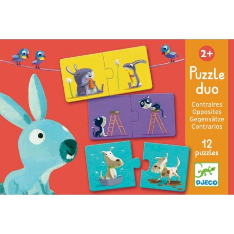 Puzzles duo : contraires
