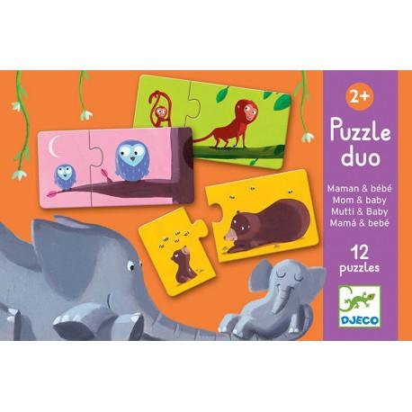 Puzzles duo : maman et bébé