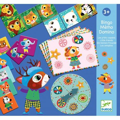 Bingo Memo Domino : ptits copains