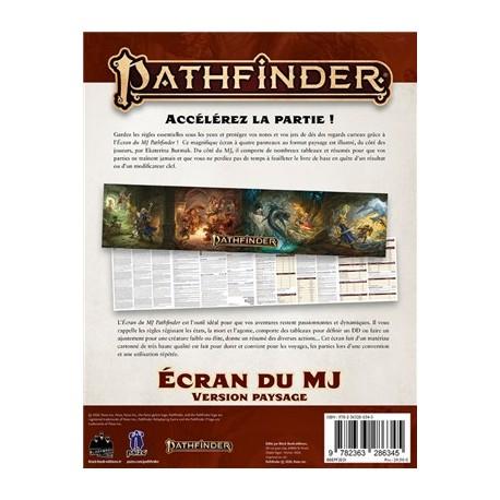 Pathfinder 2 - Ecran Du Mj (Paysage)