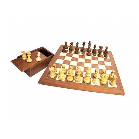 Jeux d'échecs - Plateau en Acajou