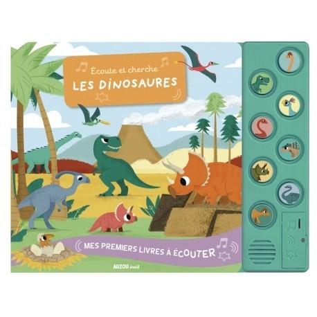 Ecoute et cherche les dinosaures