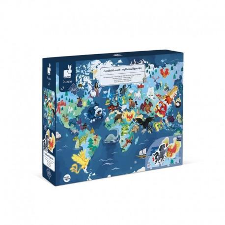 Puzzle Éducatif Mythes & Légendes - 350 pcs