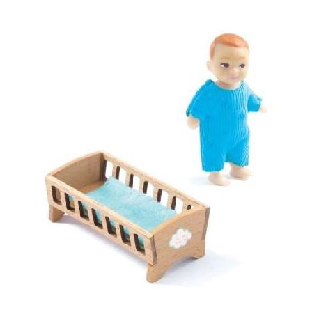 Maison de poupées : bébé Sacha