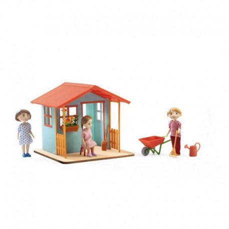 Maison de poupées : garden house