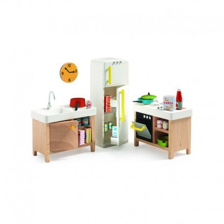 Maison de poupées : la cuisine