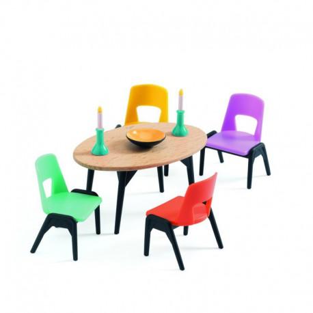 Maison de poupées : la salle à manger