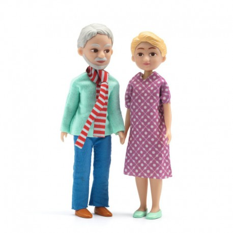 Maison de poupées : les grands-parents