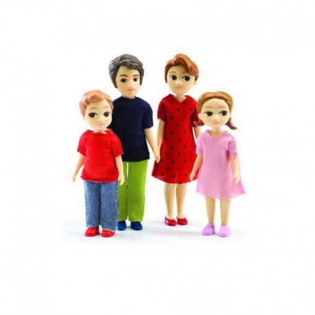 Maison de poupées : la famille de Thomas & Marion