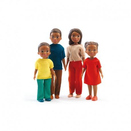 Maison de poupées : la famille de Milo & Lila