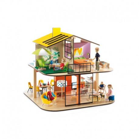 Maison de poupées : color house